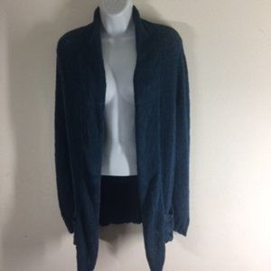 Mossimo Oversized Lightweight Teal Open-Fr…